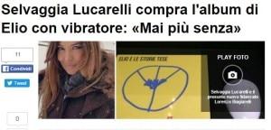 Selvaggia Lucarelli Vibratore