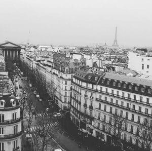 Parigi in bianco e nero